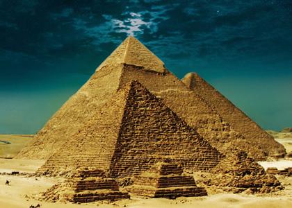 ピラミッド イラスト